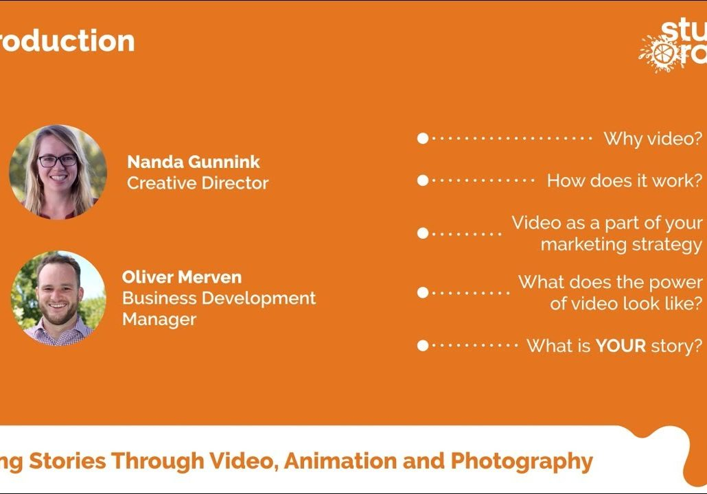 The Power of Video Workshop