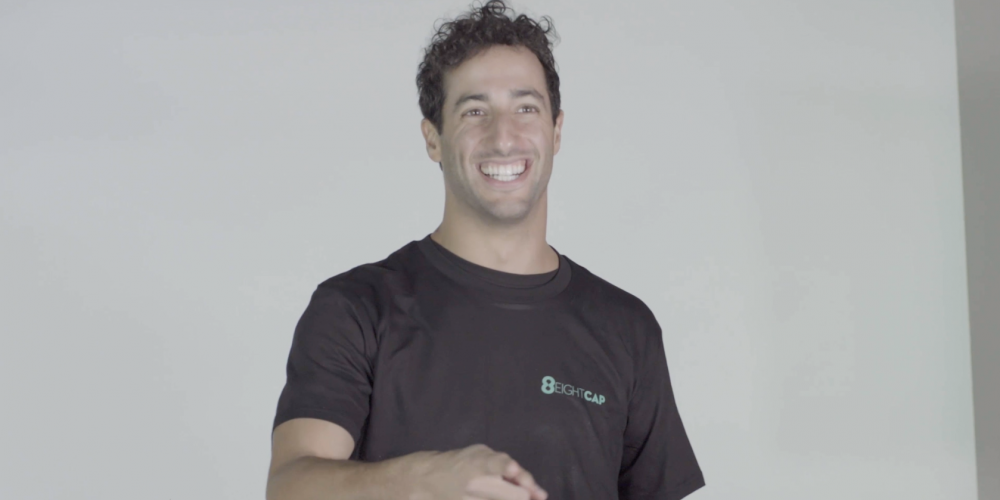 Daniel Ricciardo & Eightcap – Behind the Scenes