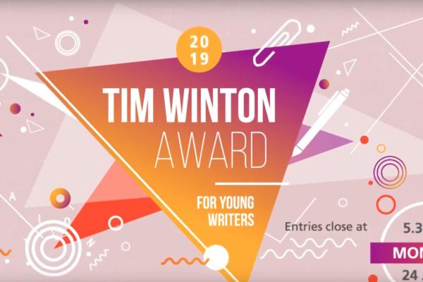 Tim Winton Award 2019