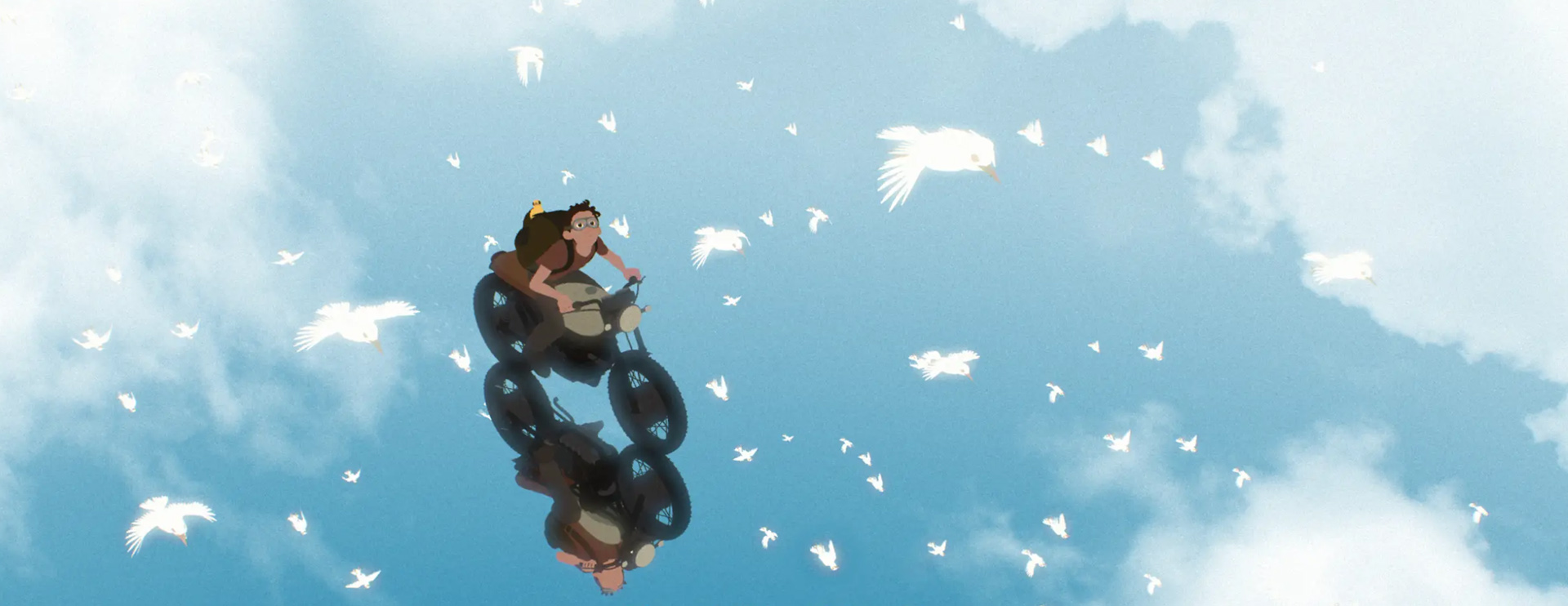 Away by Gints Zilbalodis. Click through to watch the trailer for the animation short.